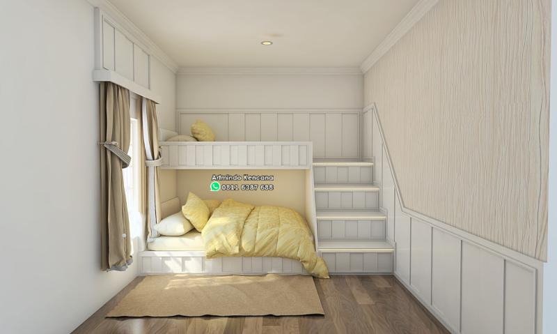 Jasa Desain Kamar Tidur Minimalis Artmindo Kcn
