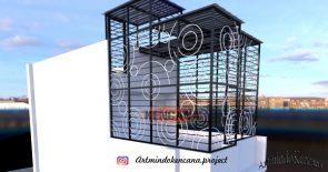 1. Desain Krangkeng Minimalis KM 001 copy