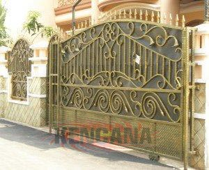 1. gambar pagar minimalis rumah desain pagar minimalis pagar rumah