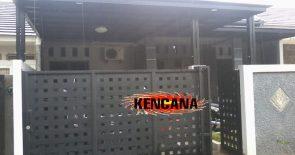 18. pintu pagar anyaman plat dan canopi copy