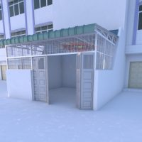 3. Desain Krangkeng Minimalis KM 008 3
