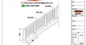 9 pegangan tangga stainless