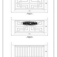 Desain Balkon Jendela dan pintu Minimalis