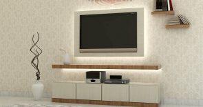 Desain Interior Backdrop Tv