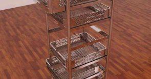 Desain Rak Stainlist Steel