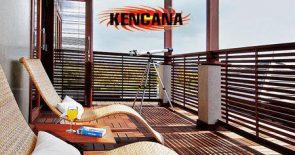 balkon kayu