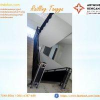 Balkon dan pegangan Tangga Wrought Iron 1