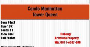 disewakan Condo Manhattan