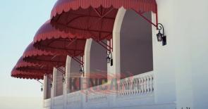 Desain Canopy Kain Sandrella CM-008