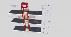 Desain Lift CBD Rumah Villa
